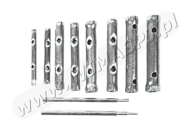 klucze rurowe 10szt. 6-22mm